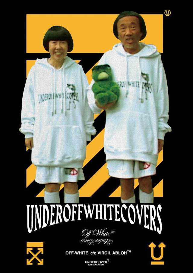 "Off-White X Jun Takahashi Collab on ""UNDEROFFWHITECOVERS"""