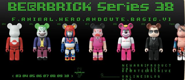 Medicom Toy & Cleverin Make Functional BE@RBRICK