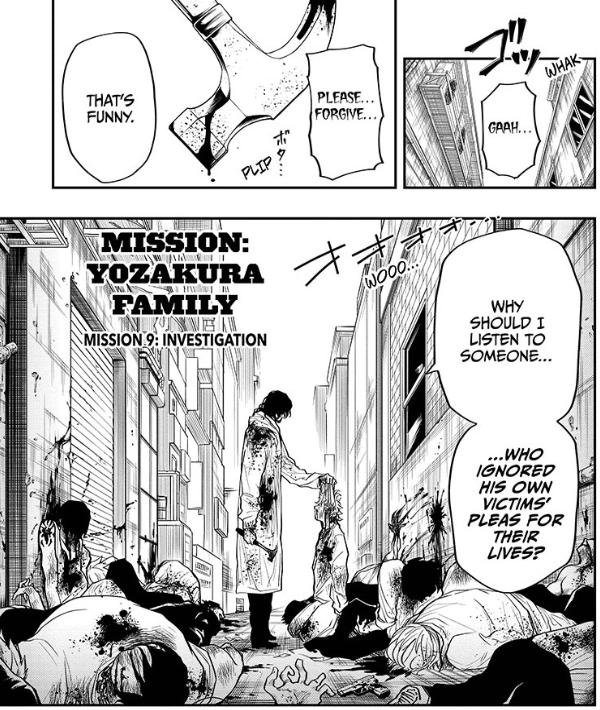 Mission: Yozokura Family chapter 9