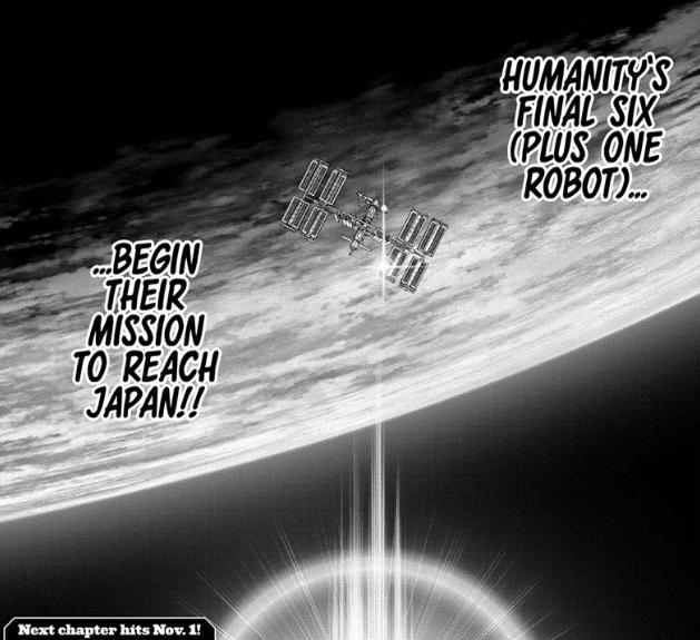 Dr. STONE Reboot: Byakuya chapter 1