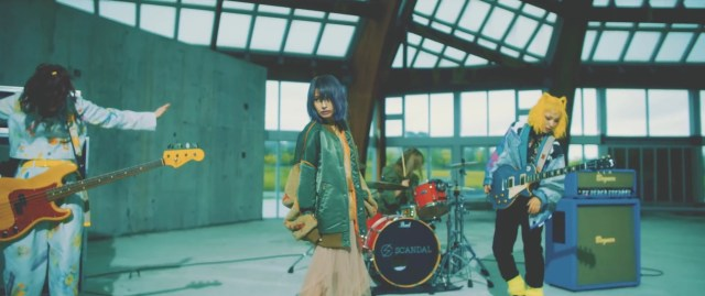 Scandal Release Colorful New Music Video for Saishuheiki, Kimi' Digital Single