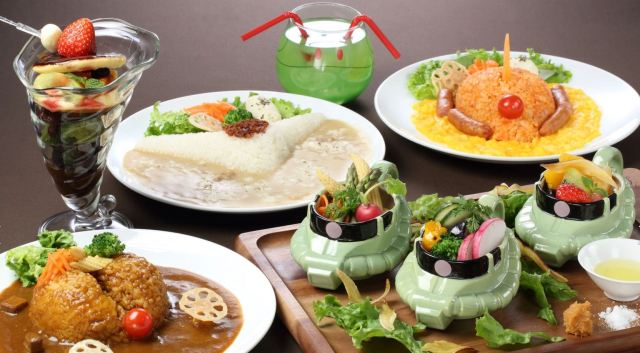 Gundam Cafe Food
