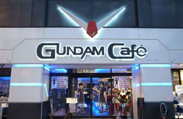 Akihabara's Gundam Cafe Is Cannibalizing The AKB48 Cafe And It Rules