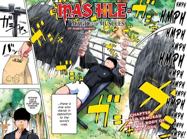 MASHLE Chapter 1