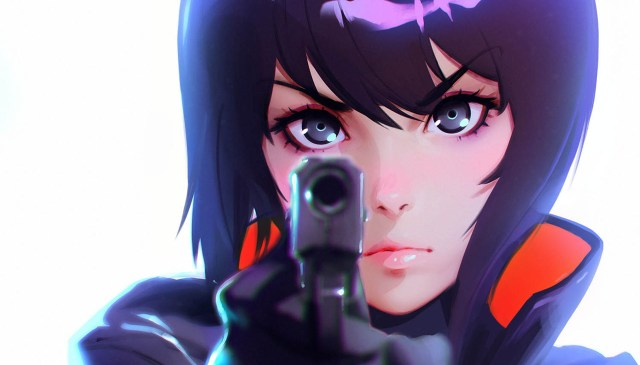 Ghost in the Shell Art by Ilya Kuvshinov