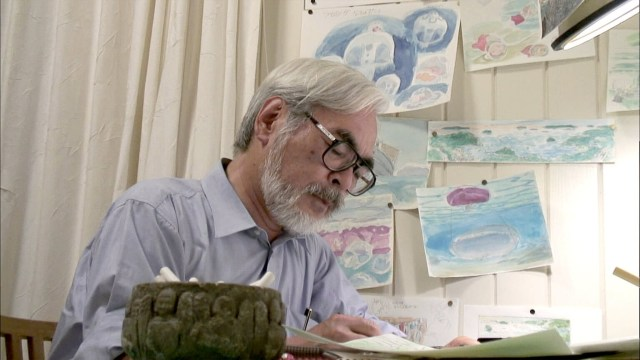 Miyazaki Working