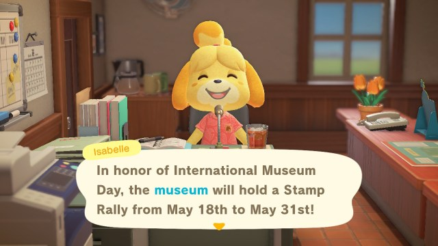 Animal Crossing: New Horizons Stamp Rally