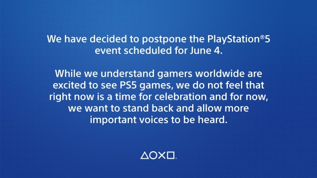 PS5 Announcement