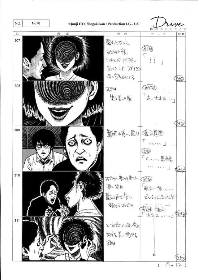 Uzumaki Storyboards