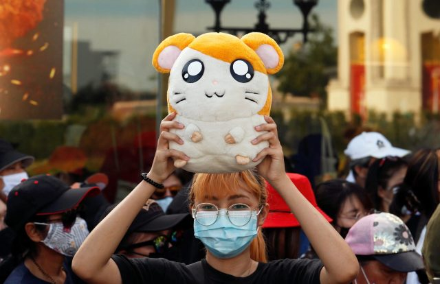 Hamtaro: The Unlikely Face of Thailand's Student-Led Protests