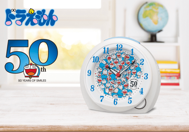 Doraemon Clock Announcement