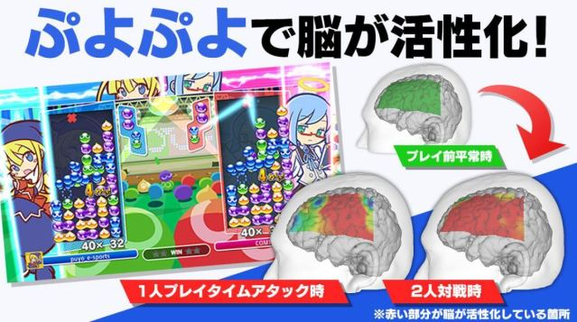 Suwa University of Science Research Shows Brain-Activating Power of Puyo Puyo