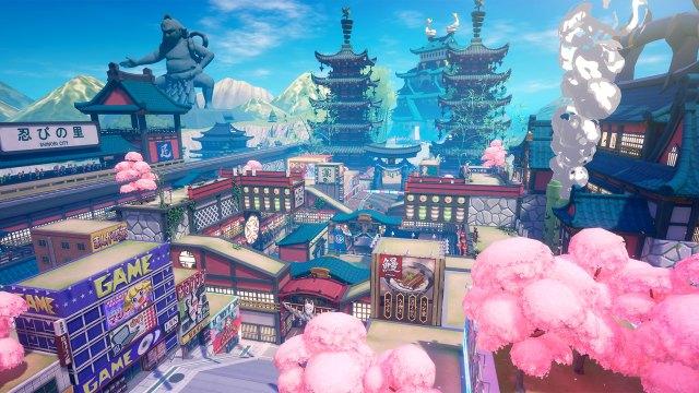 Ninjala Shinobi City Map