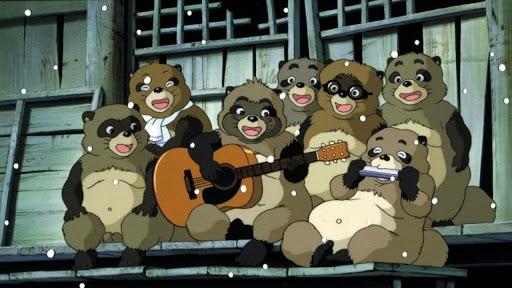 Pom Poko Characters Singing