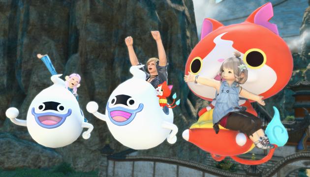 Ride Around in a Whisper in Final Fantasy/ Yo-kai Watch Crossover