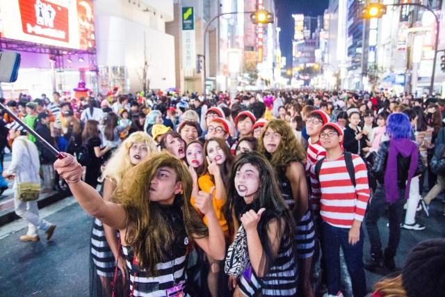 Group Photo for Shibuya Halloween