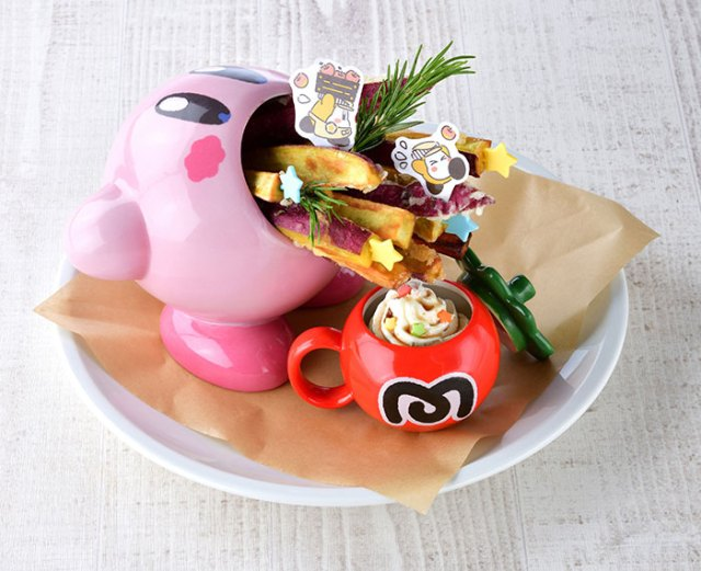 The Kirby Cafe Just Announced Three New Fall-Themed Menu Items
