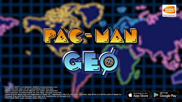 New PAC-MAN Geo Mobile Game Turns Real-World Locations Into PAC-MAN Boards