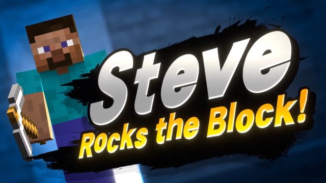 Minecraft Steve Joins the Battle As Latest Super Smash Bros Ultimate DLC Fighter