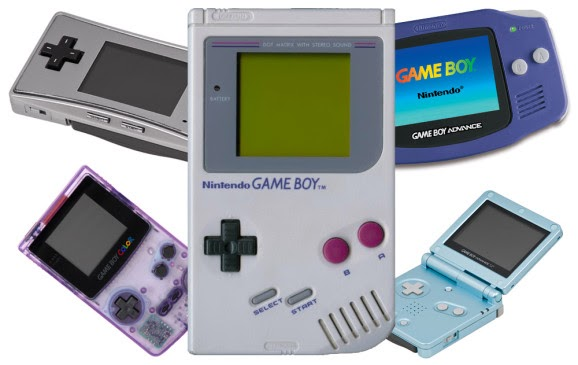 Different Game Boy Consoles