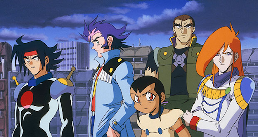 Mobile Fighter G Gundam Characters