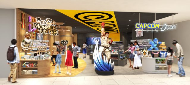 Capcom Store Osaka Store Front