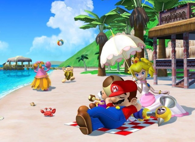 Screenshot from game Super Mario 3D All-Stars