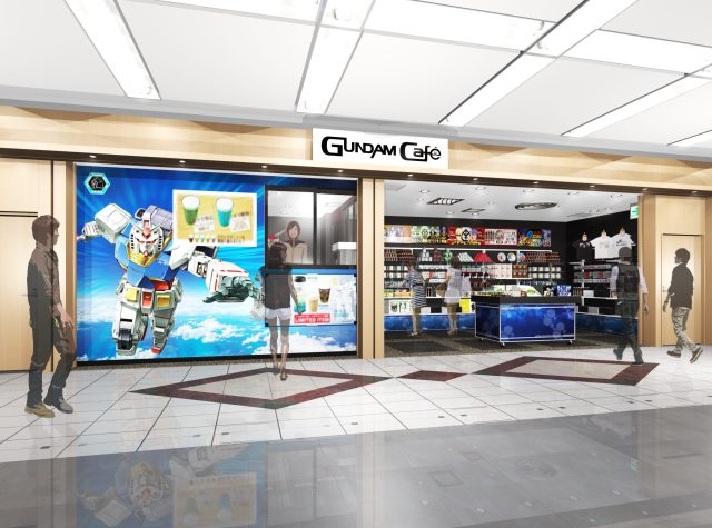 Gundam Cafe Haneda Top