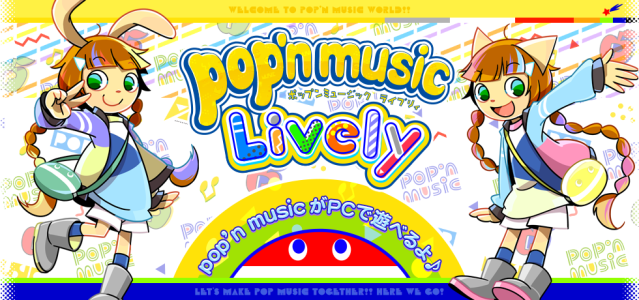 Pop'n music Lively Premium Model Controller