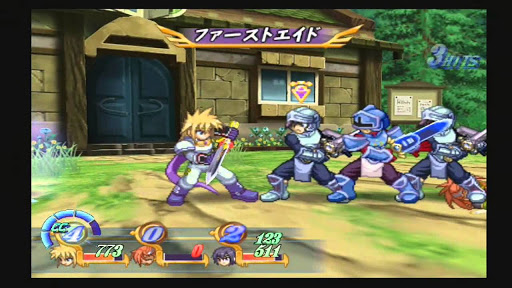 Tales of Destiny Gameplay