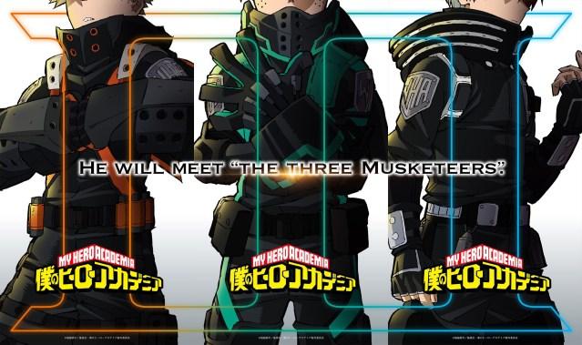My Hero Academia 'Three Musketeers' new anime project