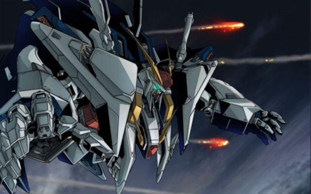 Screenshot from Gundam anime