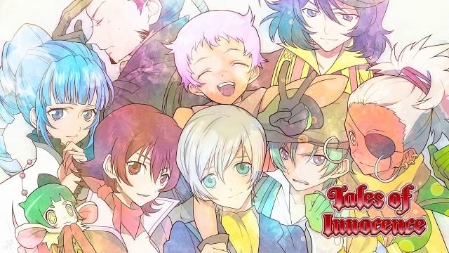 Tales of Innocence game illustration