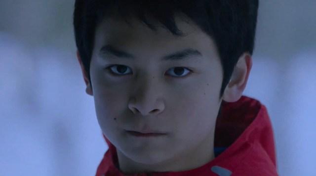 Scene from the Japanese movie Ainu Mosir