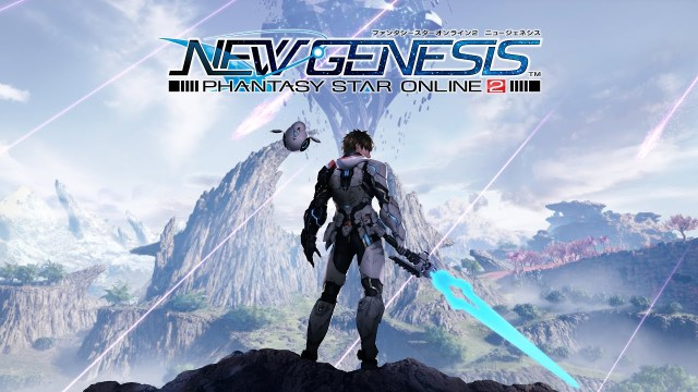 Phantasy Star Online 2: New Genesis Key Visual