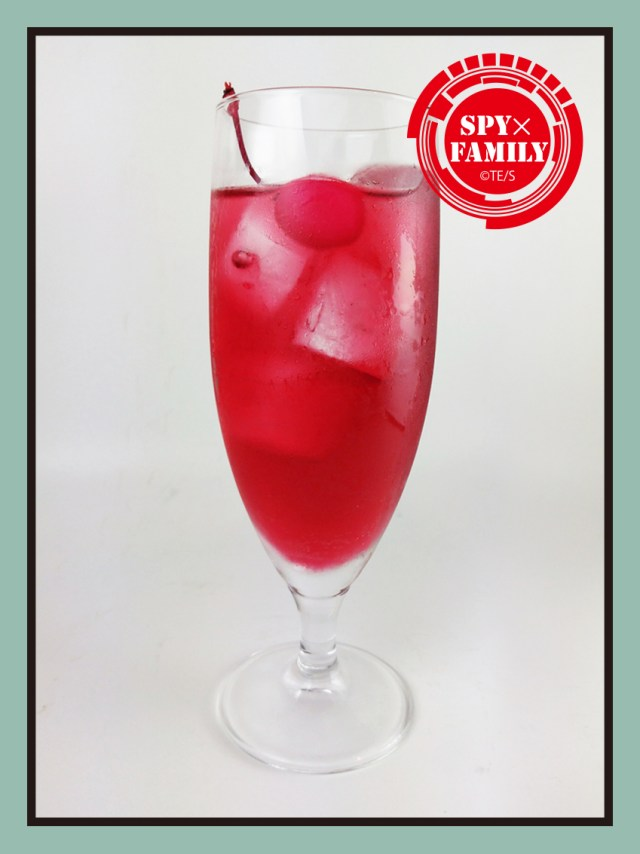drink from SPY x FAMILY Tower Records café