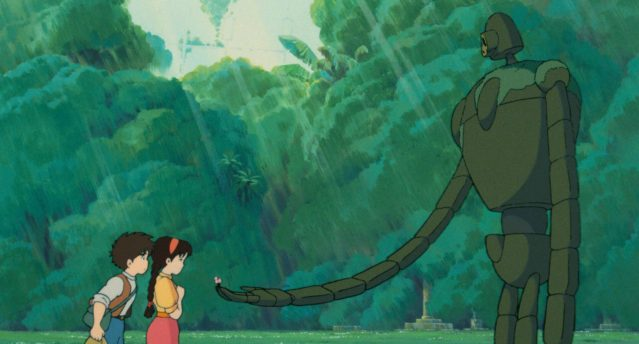 Studio Ghibli anime movie screenshot