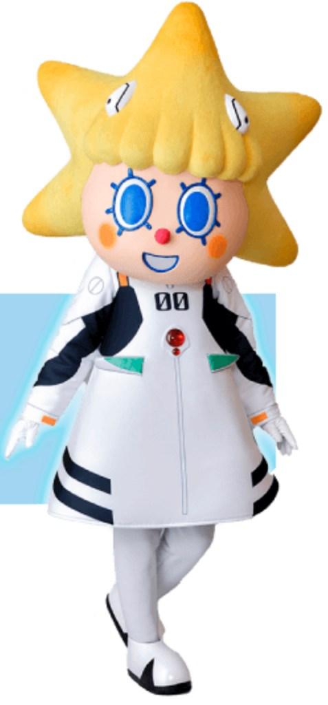 mascot of Tokyo Skytree for the Evangelion Collaboration