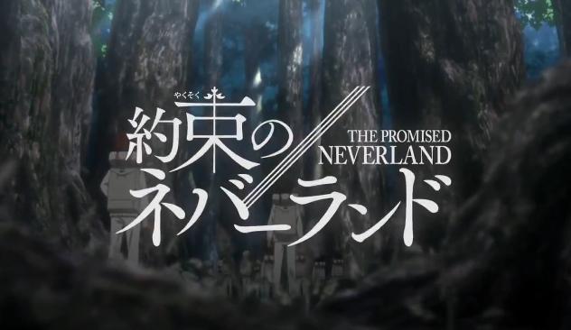 The Promised Neverland Season 2 Anime Logo