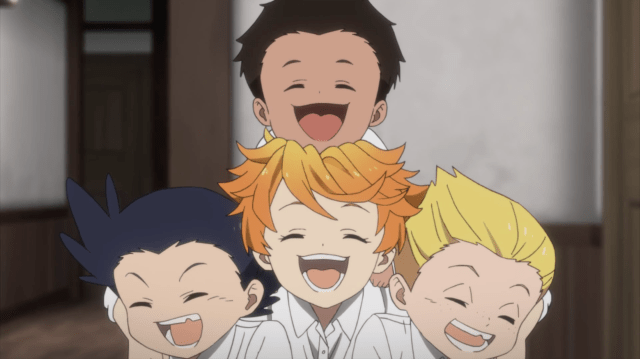 Promised Neverland anime screenshot