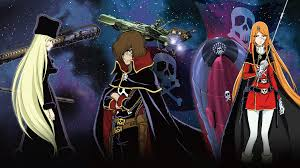 Leiji Matsumoto's creations. Captain Harlock, Galaxy Express