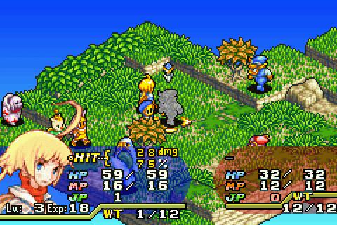 final fantasy tactics advance battle