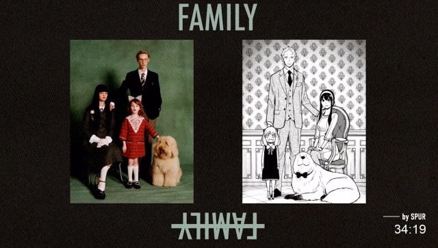 SPUR x SPY x FAMILY