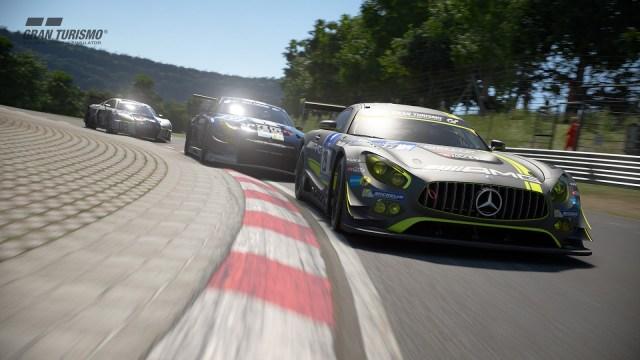 Screenshot from game Gran Turismo