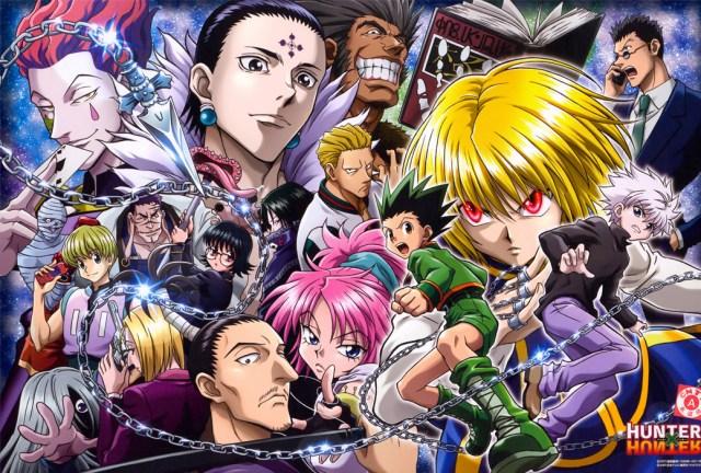 Hunter x Hunter anime characters
