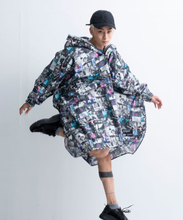 Evangelion x KiU Rain Collection | Raincoat