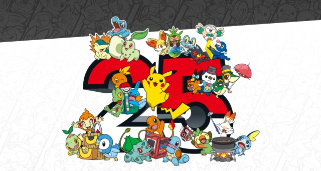 Pokémon 25th Anniversary Logo