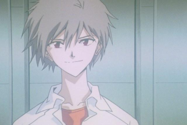 Kaworu from Neon Genesis Evangelion
