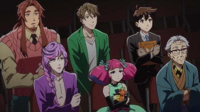 Cast of Heaven's Design Team anime