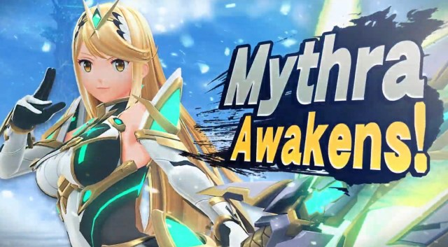Mythra Super Smash Bros